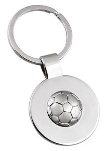 Portachiavi pallone Football cm.7,8x3,5x1h