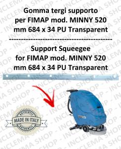 MINNY 520 GOMMA TERGIPAVIMENTO supporto per FIMAP