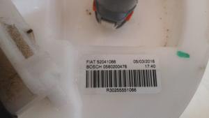 Pompa carburante c/trasduttore galleggiante usato originale Fiat Panda serie dal 2011 al 2017 1.2