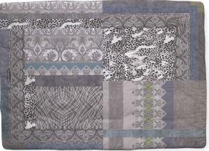 Caleffi Scaldotto plaid imbottito per divano 130x170 cm ORIENTE grigio