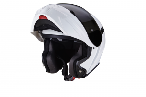 CASCO MOTO MODULARE SCORPION EXO-920 SOLID WHITE