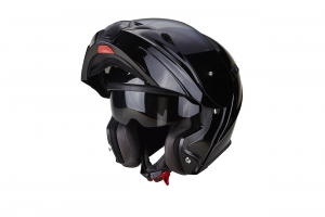 CASCO MOTO MODULARE SCORPION EXO-920 SOLID BLACK