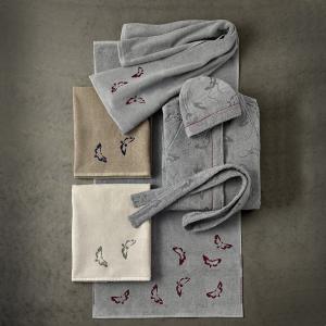 Set 1+1 asciugamano e ospite in spugna Somma Armonia vari colori