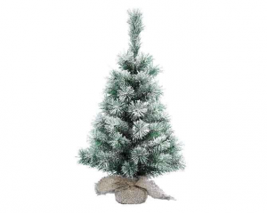 KAEMINGK Snowy Vancouver Mini Tree Color Green / White Size 90 cm Tree Christmas 175