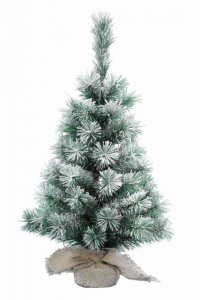 KAEMINGK Snowy Vancouver Mini Tree Color Green / White Size 75 cm Tree Christmas 327