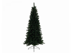KAEMINGK Lodge Slim Pine Color Green Size 210 cm Tree Christmas Decorations 227