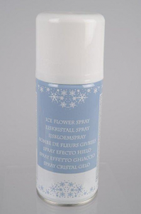 KAEMINGK Ice Flower Spray Color White Size 150 ml Spray Christmas Christmas 452