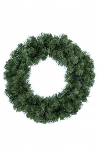 KAEMINGK Imperial Wreath Color Green Size 50 cm Garlands And Fringes Christmas 313