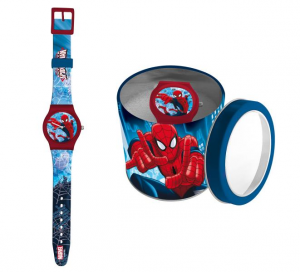 ASTRO Orologio Analogico Spiderman In Scatola Regalo Metallica Orologio Da Polso 985