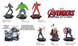 COMANSI Avengers Assortment Display Bustine Personaggi Playset Maschili Gioco 632