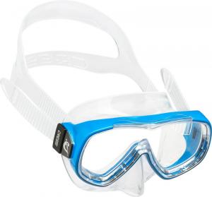 CRESSI Maschera Piumetta Kid Silclear/Frame Blu Maschera Nuoto Gioco Sportivo 686