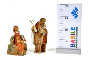 EUROMARCHI Sacra Famiglia Cm 16 Presepe - Personaggi E Animali Natale Regalo 281