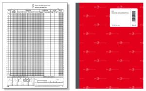 BM Registro Dei Corrisp 2 Copie 244/C Modulistica Varia Carta Cartoleria 315