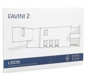 FAVINI Album Da Disegno 20 Fogli 110 Grammi 24X33Cm Liscio Confezione 494