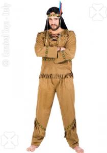 CARNIVAL TOYS Costume Pellerossa Tgm In Busta Costumi Completo Adulto Party 431