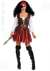 CARNIVAL TOYS Costume Corsara Tgl In Busta Costumi Completo Adulto Party 262