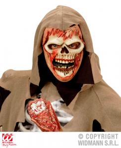 WIDMANN Maschera Mezzo Viso Zombie Strappa Anime Maschera Horror Party 751