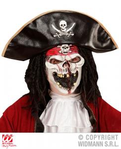 WIDMANN Maschera Mezzo Viso Pirata Della Nave Fantasma Maschera Horror Party 701