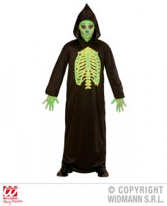 WIDMANN Costume Toxic Reaper Tunica Con Cappuccio Taglia 140 Cm / 8 10 Years 273