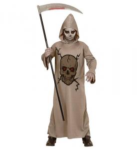 WIDMANN Costume Skull Master Tunica Con Cappuccio Taglia 140 Cm / 8 10 Years 345