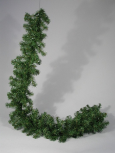 TABOR Wreath 250 Branch Pine 2.7 mt Green Garlands And Fringes Christmas Gift 831