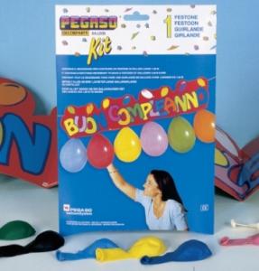 PEGASO Kit Festone Buon Compleanno Festoni E Ghirlande Party Carnevale 887