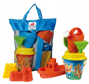 ANDRONI Bag With Set Sea Mold Watering can Palette And Rake And Barchetta 314
