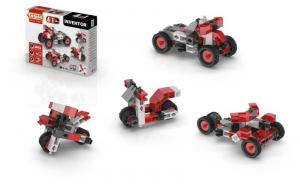 ENGINO Inventor 4 Models Motorbikes Costruzioni Piccole Gioco Bambino Bambina 553