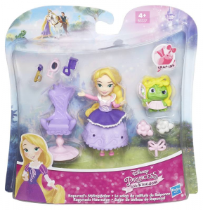 HASBRO Disney Princess Small Doll Con Amichetto E Accessori 368