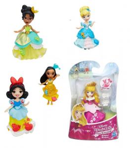 HASBRO Disney Princess Small Doll Base Mini Bambola Gioco Femmina Bimba Bambina 524