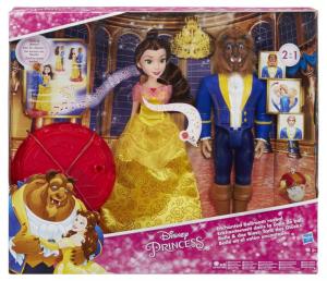 HASBRO Disney Princess Bella E La Bestia Magico Ballo 590