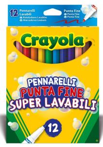 CRAYOLA Pennarelli Lav P Fine 7506 Pennarelli Artistici Gioco Disegno Cartoleria 916