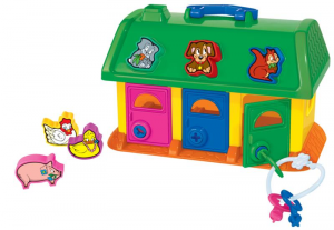 CAVALLINO Pets House 9166 Puzzle Incastro Prima Infanzia Giocattolo 136