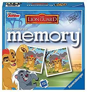 RAVENSBURGER Memory Disney Lion Guard Gioco Memoria Da Tavolo Giocattolo 124