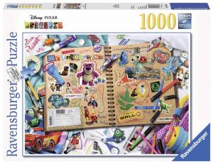 RAVENSBURGER Puzzle 1000 Pezzi Disney Disney Pixar Scrapbook 621