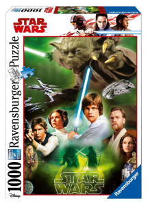 RAVENSBURGER Puzzle 1000 Pezzi Disney Star Wars I 647