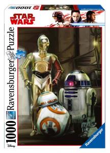 RAVENSBURGER Puzzle 1000 Pezzi Disney Star Wars H 193