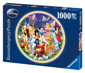 RAVENSBURGER Puzzle 1000 Pezzi Disney Protagonisti Disney Puzzle Giocattolo 174