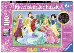RAVENSBURGER Puzzle 100 Pezzi Starline Principesse Disney 123