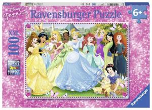 RAVENSBURGER Puzzle 100 Pezzi Xxl Principesse Disney F Puzzle Giocattolo 824