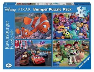 RAVENSBURGER Puzzle 4X42 Bumper Pack Disney Pixar 658
