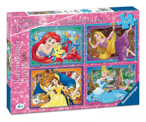 Ravensburger Puzzle Pieces 4x42 Princesse Disney 864
