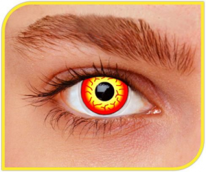 Apitalia Lenses Darth Maul Pair Of Contact Lenses Halloween / Carnival 269