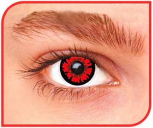 Apitalia Lenses Volutri Pair Of Contact Lenses Halloween / Carnival 402