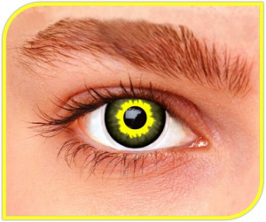 Apitalia Lenses Eclipse Couple Of Contact Lenses Halloween / Carnival 525