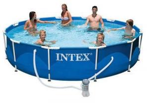 INTEX Piscina Frame 366 Pomp 28212 Piscina Gioco Estivo Estate Giocattolo 257