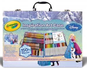 CRAYOLA Valigetta DellArtista Disney Frozen Accessori Artistici Gioco Disegno 148