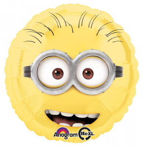 ANAGRAM ballons mylar Minions Round 18 « Party Ballons et Carnaval 309