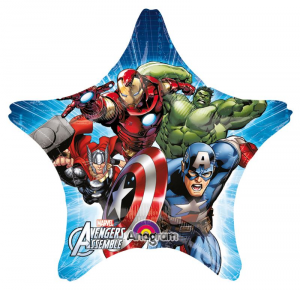 Anagram Ball Star Avengers Assemble 40 Foil Balloons Party And Carnival 681