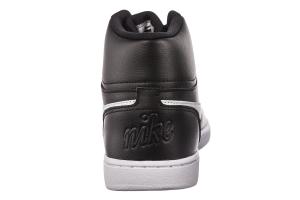 SNEAKERS NIKE EBERNON MID AQ1773 002 BLACK/WHITE